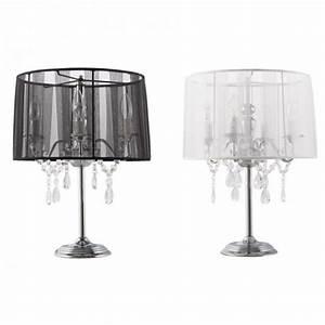 Lampe De Chevet Baroque : lampe de chevet chandelier baroque blanche ~ Teatrodelosmanantiales.com Idées de Décoration