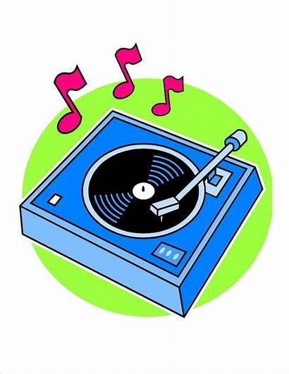 Record Player Clipart Clip Phonograph Vinyl Broken