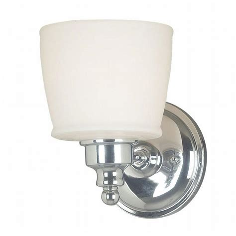 kenroy home 1 light chrome wall sconce 91701ch the home depot