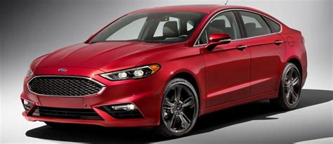 325hp, V6tt 2017 Ford Fusion Sport Leads Refreshed Midsize