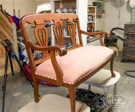 Settee Repairs by Tearing A Chippendale Settee Eight Hundred Furniture