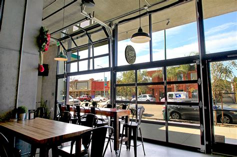 garage glass doors door restaurant bar inside brewery storefront retail gate entry web tune security residential