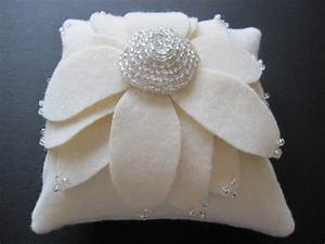 Pets dog ring bearer pillow wedding ivory 2307276 for Dog wedding ring bearer pillow
