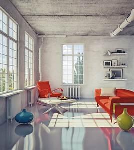 Industrieboden Im Wohnbereich : industrieboden im wohnbereich was ist dabei zu beachten ~ Michelbontemps.com Haus und Dekorationen