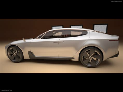 Kia Four Door by Kia Four Door Sports Sedan Concept 2011 Car Picture
