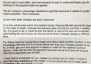 dear tenant  pay extra rent  case  die