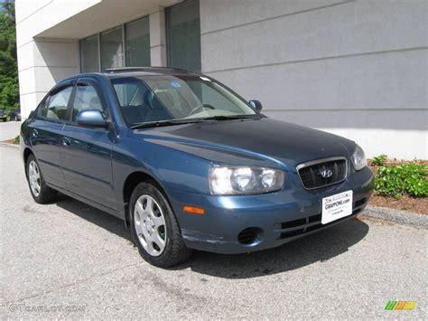 Hyundai Elantra Gls 2003 by 2003 Blue Hyundai Elantra Gls Sedan 10683499