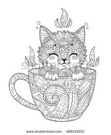Zentangle Animals Coloring Pages Adult