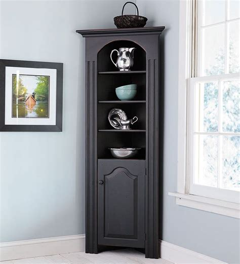 corner cabinet with doors richmond corner cabinet in chestnut for entry way by