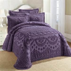 Purple Chenille Bedspreads