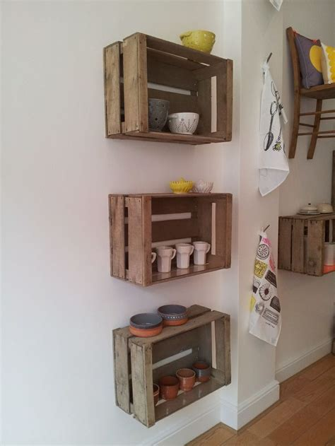 Decorating Ideas With Crates by 1000 Ideas About Wooden Crates On Crate