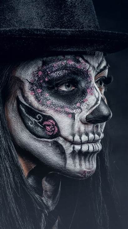 Skull Sugar Wallpapers Iphone Mask Desktop Smartphone