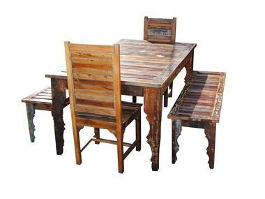 solid wood outdoor patio dining set furniture for new