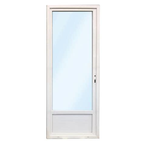 porte fen 234 tre pvc 1 vantail droit 215x90 materiauxnet