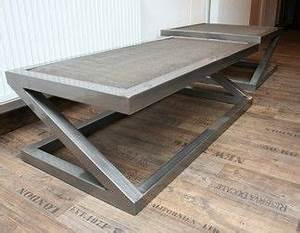 Table Basse En Beton : table basse beton design table design zed pallets and industrial ~ Teatrodelosmanantiales.com Idées de Décoration