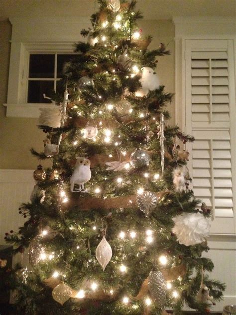 white owl christmas tree christmas is comin pinterest