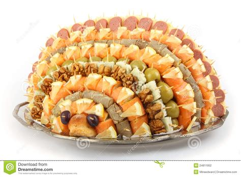 canape aperitif appetizer canape stock photo image of nuts gourmet