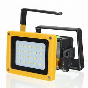 Emergency battery flood lights : Spot lights flood new w led portable