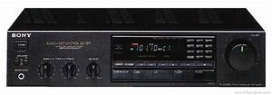 Sony Str-av210 - Manual - Am  Fm Stereo Receiver