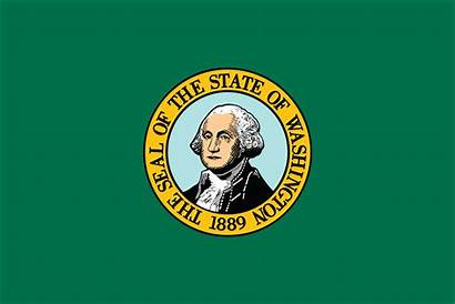 Washington Flag States United 1812