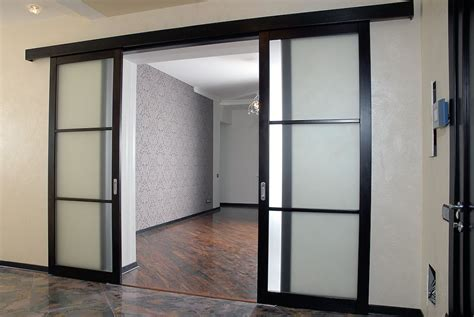 interior sliding doors types of sliding interior doors