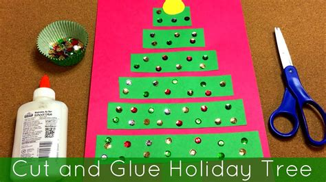 cut and glue tree project for preschool and 636 | maxresdefault