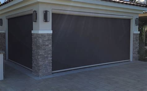 motorized retractable screens patios porches garages