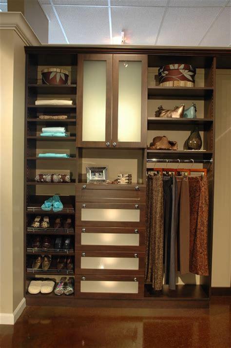chocolate pear floor mount contemporary closet