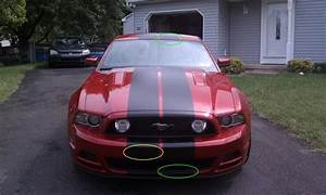 My 2013 GT Premium Candy Red w/ Matte Black Stripes - MustangForums.com