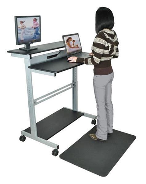 stand up desks luxor standup 40 stand up workstation