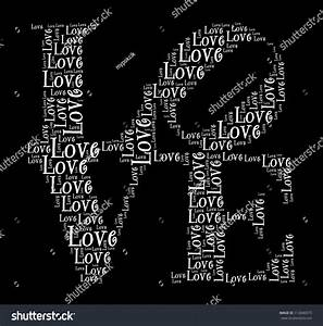 Love In Word Collage Stock Photo 113046973 : Shutterstock