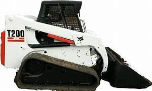 Bobcat T200 Compact Track Loader Factory Service  U0026 Shop