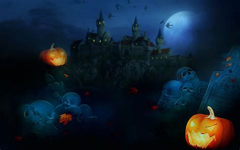 Pumpkins, Witches, Spider Web, Bats & Ghosts Collection