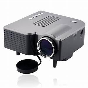 Videoprojecteur Lumens Plein Jour : mini vid oprojecteur led 95w 50 lumens full hd 1080p noir ~ Melissatoandfro.com Idées de Décoration