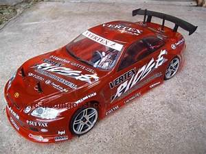 VERTEX RIDGE TOYOTA SOARER Custom Painted RC Touring Car ...