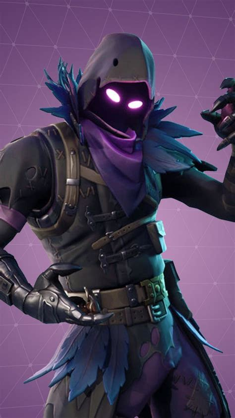 fortnite warrior video game raven skin