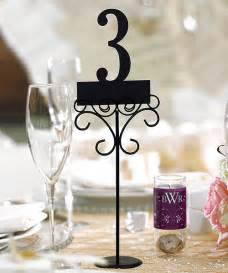wedding table number ideas wedding decorations 6 reception table number holders