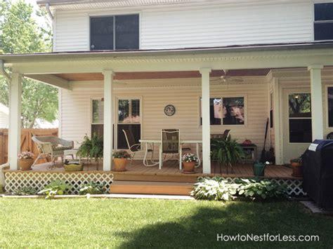 backyard porch makeover   nest