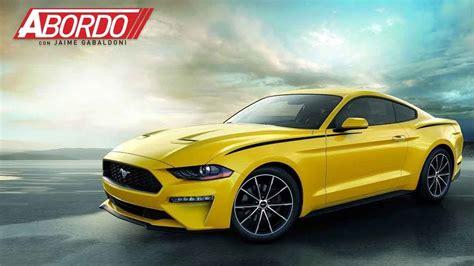¿el Ford Mustang 2018 Está Dejando De Ser Un 'muscle Car