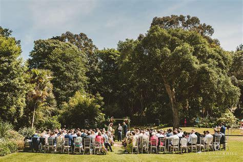 Abbotsbury Subtropical Gardens wedding Dorset Summer