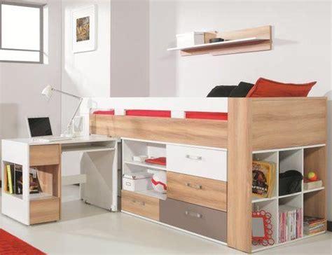 lit mezzanine avec bureau et rangement 1000 ideas about lit haut on comforters