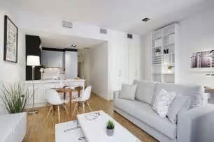 Small Open Plan Kitchen Living Room Design