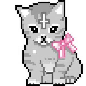 Minecraft Pixel Art Cute Cats