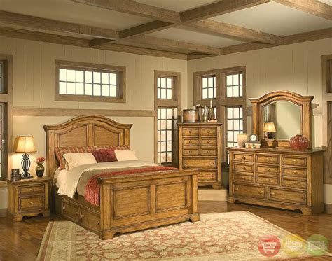 Rustic Bedroom Furniture   Raya Furniture