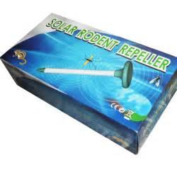 Rodent Ultrasonic Pest Repeller Solar