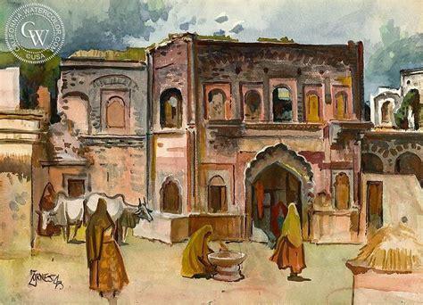 city  delhi  watercolor images arches