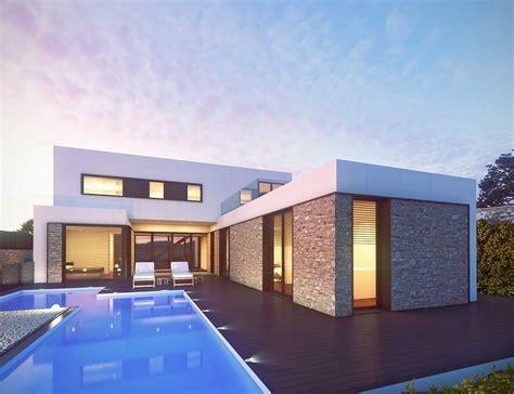 modern 2 house plans vivienda modular de lujo pedralbes inhaus 4 225 inhaus