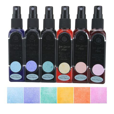 Sprei Set Uk 160x200x20 cosmic shimmer ink spray mist set phill martin graceful