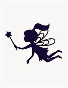 Fairy Silhouette Outline