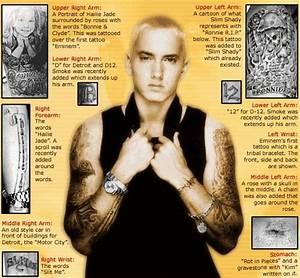 Eminem's tattoos (: | Tatoos | Pinterest